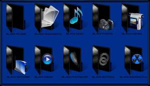 My Black Folders by hdavispi