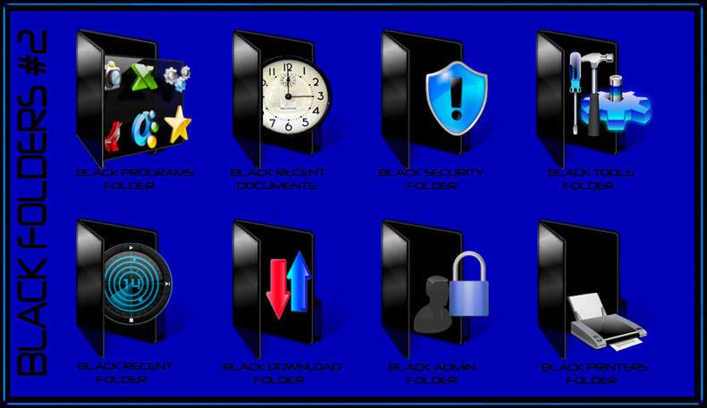 My Black Folders 2 by hdavispi