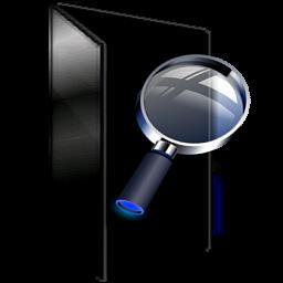 Black Windows Explorer Folder by hdavispi