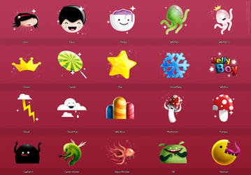 Icons Set 1 by dimpoart