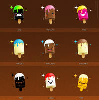 128x128 Icons Set 5 by dimpoart