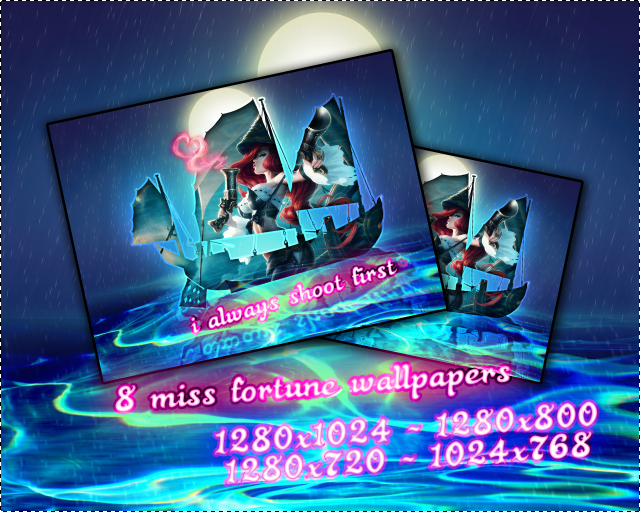 I always shoot first - Miss Fortune Wallpaper #1 by PaoloPuzza