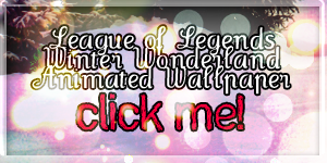 LoL Winter Wonderland Wallpaper 1 animated by PaoloPuzza