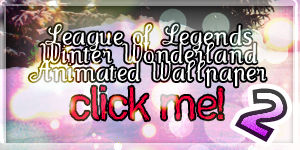 LoL Winter Wonderland Wallpaper 2 animated