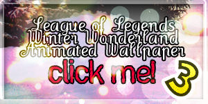 LoL Winter Wonderland Wallpaper 3 animated