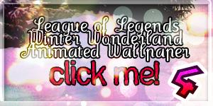 LoL Winter Wonderland Wallpaper 4 animated by PaoloPuzza