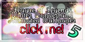 LoL Winter Wonderland Wallpaper 5 animated by PaoloPuzza