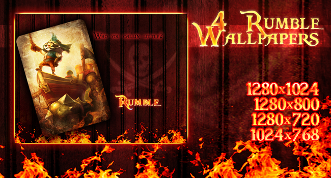 Pirates of Bilgewater - Rumble Wallpaper #2 by PaoloPuzza