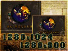 League of Hexpunk - Blitzcrank Wallpaper 1 by PaoloPuzza