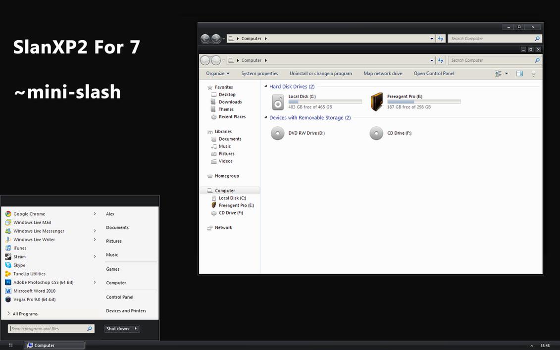SlanXP 2.0 For 7 by mini-slash