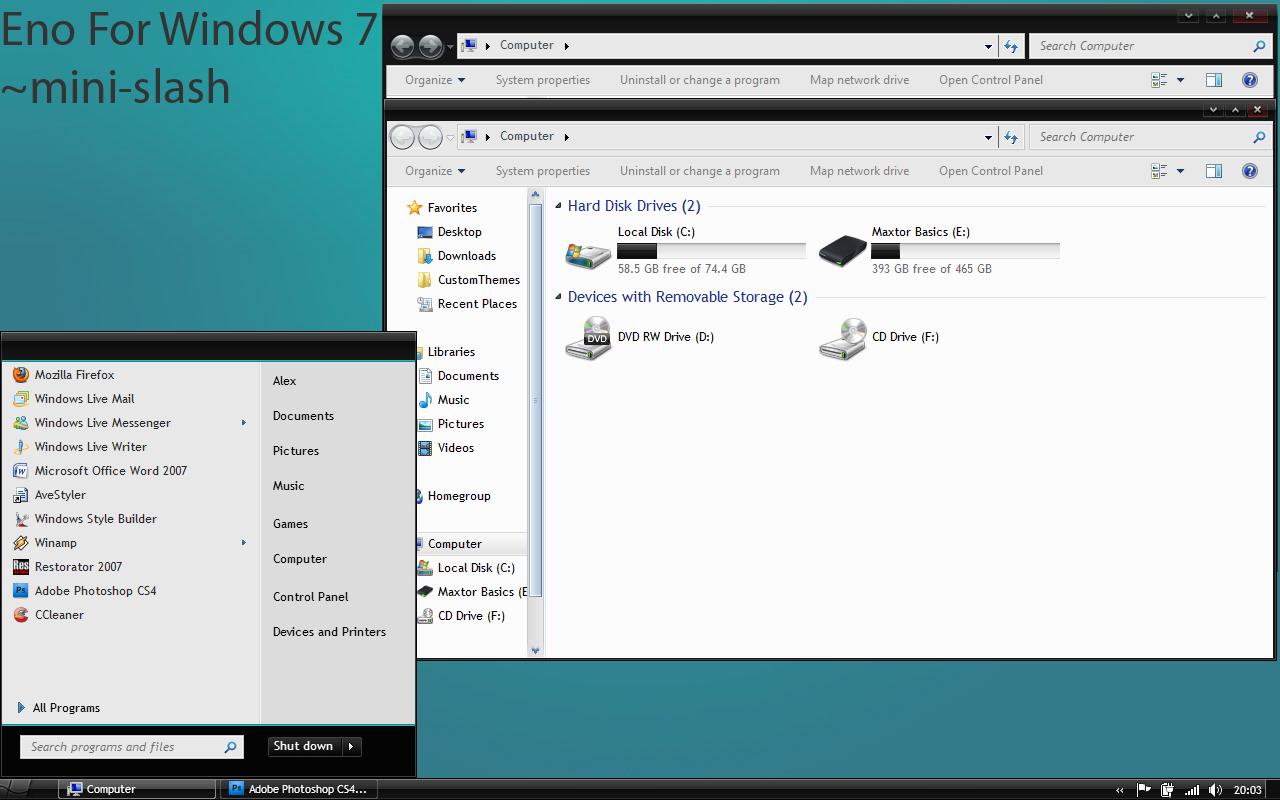 Eno For Windows 7