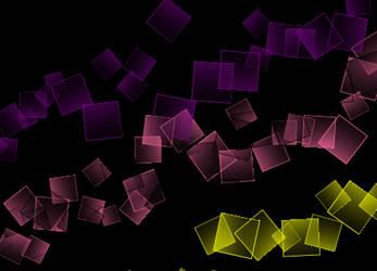 square sparkle brushset