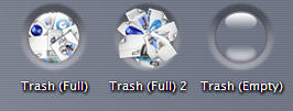 Trash Dent Icons by dazzla