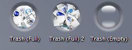 Trash Dent Icons by dazzla