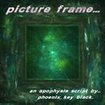 Picture Frame Script by phoenixkeyblack