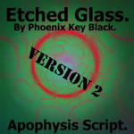 Etched Glass Script 2