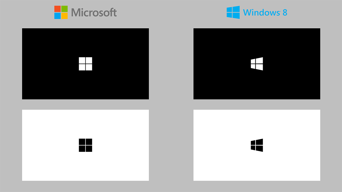 Microsoft And Windows 8 Minimalist Wallpapers By M Man22102 On