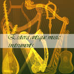 antique music instruments