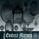 esstera mirrors brushes