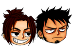 EnR Chibi: Arin and *cough* Law