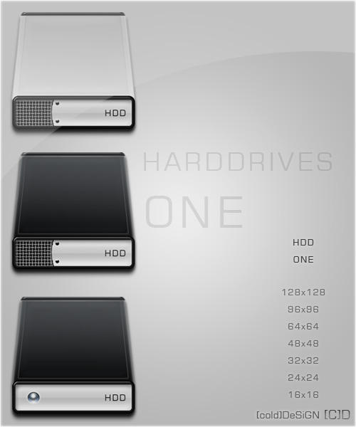 HDD ONE by borncold