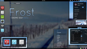 Frost - GNOME-Shell theme