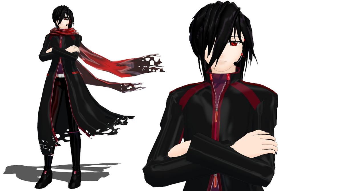 Long Black Coat Deviantart