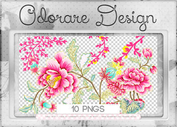 Pink Flowers 200