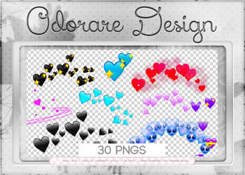 Hearts Overlay Emotion by Odorare-Design
