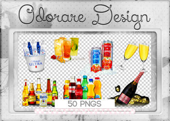 Drinks Png Pack by Odorare-Design