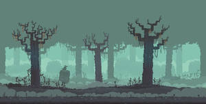 Spoopy Woods by Sky-Burial