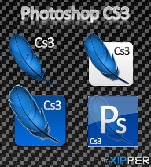 Photoshop CS3 by Xipper - Ücretsiz Photoshop Simgeleri