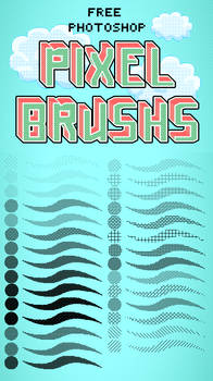 Photoshop Pixel Brushes
