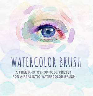 Realistic Watercolor Brush Tool Preset
