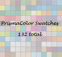 Prismacolor Swatch Set