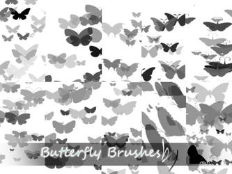 Butterfly Brushes by nainasamima