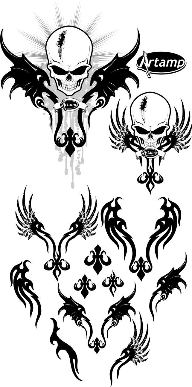 Free Afflicted Vector Pack by artamp