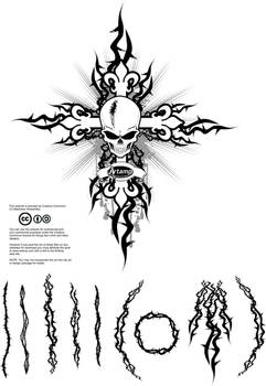 Free Vector Thorns Pack