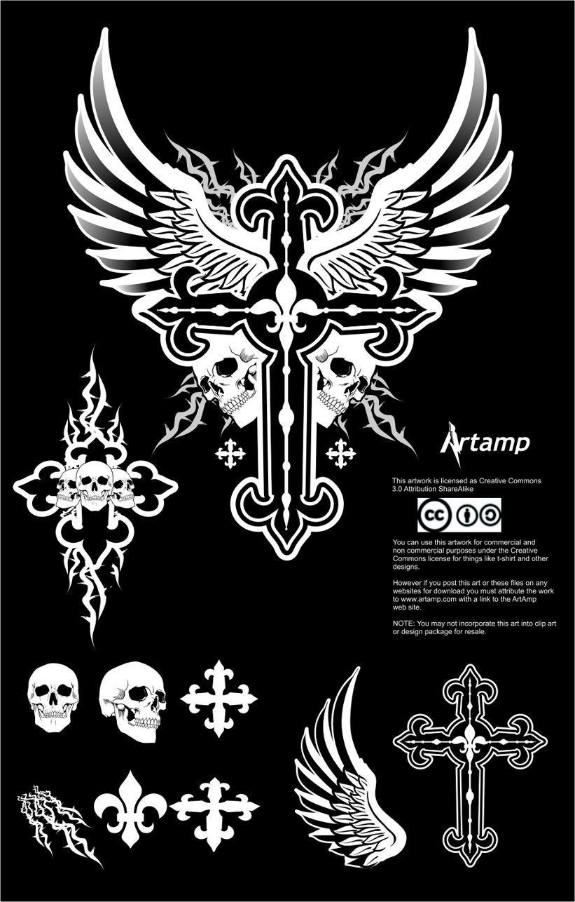 Shirt design vector pack -  Fee Dark Vector Pack By Artamp