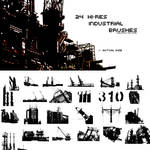 24 Hi-Res Industrial Brushes