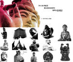 14 Hi-Res Buddhism Brushes 1