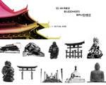 10 Hi-Res Buddhism Brushes 2