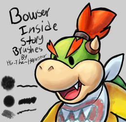 Bowsers Inside Story brushes! (for Photoshop) by HG-The-Hamster