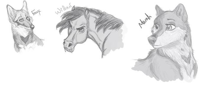 Stream sketches 2