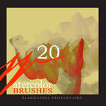 Watercolor brushes Set 4