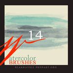 Watercolor brushes Set 5