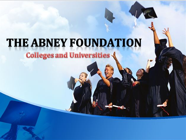 Abney and Associates Foundation: Colleges by darrylkel21