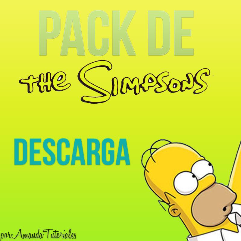 Pack de los Simpsons by AmandaDeJb