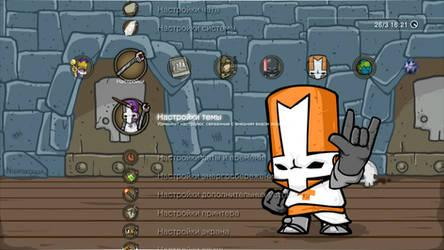 Oxhine 9 0 Castle Crashers PS3 Dynamic Theme by nightgrowler