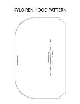Kylo Hood Pattern V1